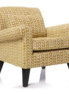 GFA Beaumont Fabric Accent Chair