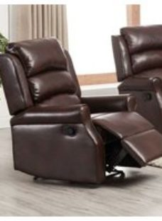 Windsor Brown Leather Electric Lift and Tilt Recliner Armchair