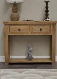 Homestyle Deluxe Oak Hall Table