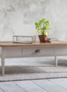 Gallery Bronte Taupe 1 Drawer Coffee Table