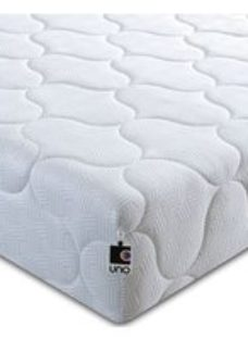 Breasley UNO 1000 Pocket Spring Ortho Deep Mattress - 5ft King Size