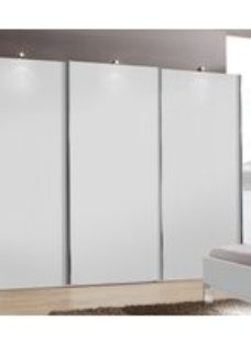 Wiemann Miami Plus 3 Door Sliding Wardrobe in White - W 300cm