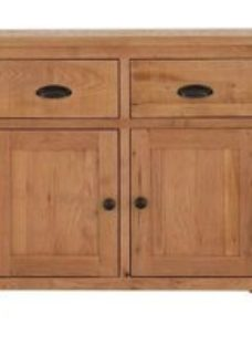 Vancouver Sawn Oak 2 Door 2 Drawer Buffet
