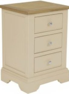 Classic Harmony Cobblestone Bedside Cabinet - Painted