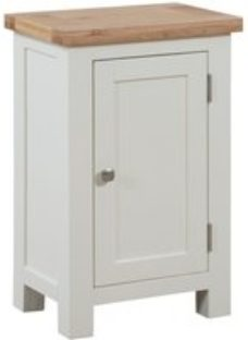 Dorset Ivory Painted Small Cabinet - Devonshire Furniture
