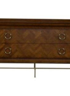 Provencal French Cherry 2 Drawer Wide Chest