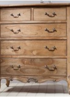 Frank Hudson Chic Weathered 5 Drawer Chest