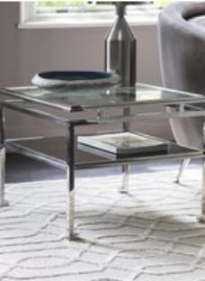 Gallery Cosenza Silver Large Side Table