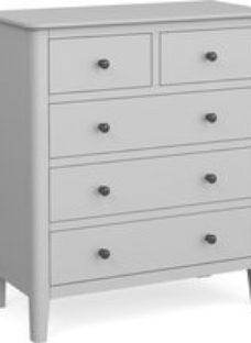 Global Home Stowe Grey Painted 2+3 Drawer Chest