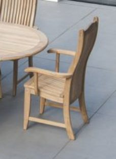 Alexander Rose Roble Bengal Dining Chair (Pair)
