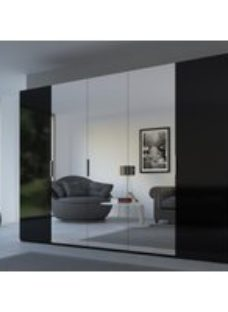 Rauch 20UP Front 6A Wardrobe with Mirror Front