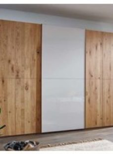 Rauch 20UP Partly Solid Wood Sliding Wardrobe