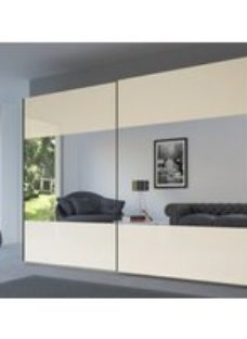 Rauch 20UP Front 8 Sliding Wardrobe with Matt Glass Front